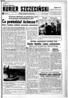 Kurier Szczeciński. R.5, 1949 nr 263 wyd. miejskie