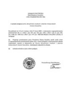 Uchwała Rady Miejskiej w Koszalinie nr XLIX/709/2014