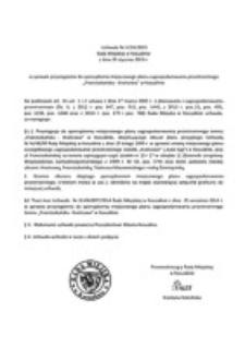 Uchwała Rady Miejskiej w Koszalinie nr V/24/2015