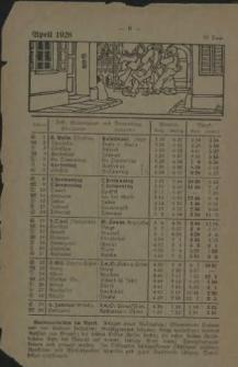 Heimat-Kalender für den Kreis Bublitz. 1928
