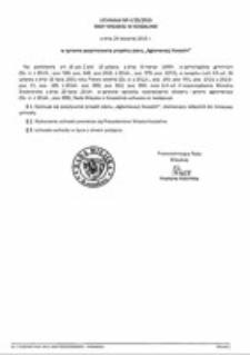 Uchwała Rady Miejskiej w Koszalinie nr V/25/2015
