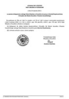 Uchwała Rady Miejskiej w Koszalinie nr V/28/2015