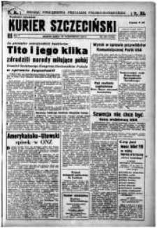 Kurier Szczeciński. R.5, 1949 nr 291 wyd. miejskie
