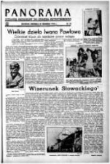 Panorama : dodatek niedzielny do Kuriera Szczecińskiego. 1949 nr 33