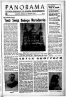 Panorama : dodatek niedzielny do Kuriera Szczecińskiego. 1949 nr 47