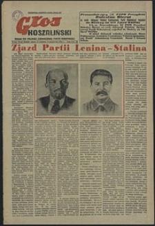 Głos Koszaliński. 1952, październik, nr 30