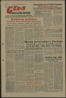 Głos Koszaliński. 1952, październik, nr 31