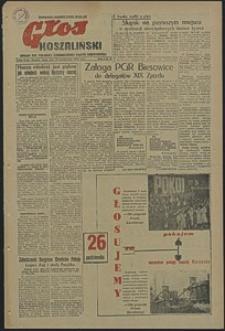 Głos Koszaliński. 1952, październik, nr 39