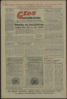 Głos Koszaliński. 1952, październik, nr 45