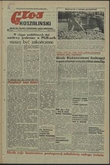 Głos Koszaliński. 1952, listopad, nr 62