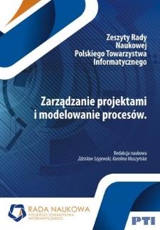 Zarządzanie projektami i modelowanie procesów