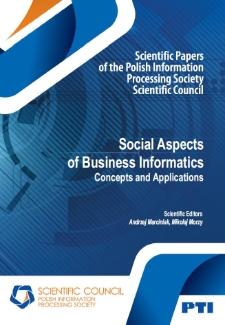 Social Aspectsof Business Informatics.