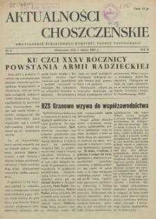 Aktualności Choszczeńskie : pismo Powiatowego Komitetu Wyborczego Frontu Narodowego. 1953 nr 8