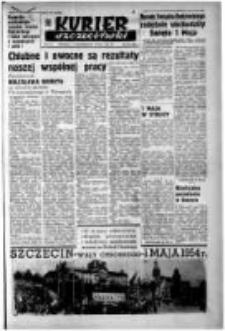 Kurier Szczeciński. R.10, 1954 nr 104 wyd.A