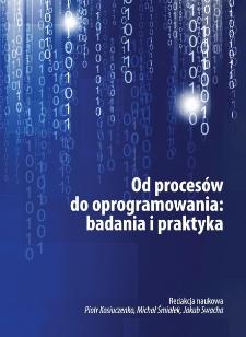 Od procesów do oprogramowania. Badania i praktyka