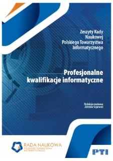 Profesjonalne kwalifikacje informatyczne