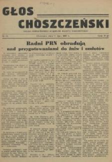 Głos Choszczeński : organ Powiatowego Komitetu Frontu Narodowego. 1955 nr 15