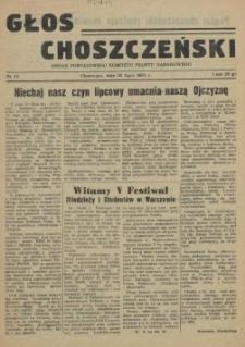 Głos Choszczeński : organ Powiatowego Komitetu Frontu Narodowego. 1955 nr 16