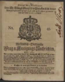 Wochentlich-Stettinische Frag- und Anzeigungs-Nachrichten. 1740 No. 45