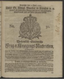 Wochentlich-Stettinische Frag- und Anzeigungs-Nachrichten. 1742 No. 30