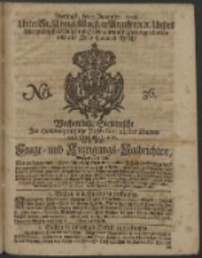 Wochentliche Stettinische zur Handlung nützliche Preis-Courante der Waaren und Wechsel-Cours, wie auch Frage- und Anzeigungs-Nachrichten. 1728 No. 36