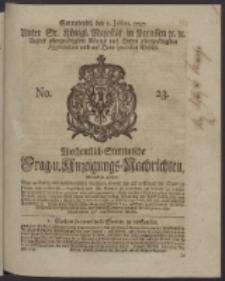 Wochentlich-Stettinische Frag- und Anzeigungs-Nachrichten. 1747 No. 23
