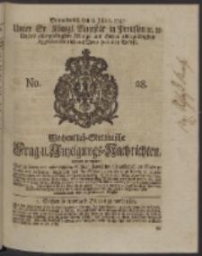 Wochentlich-Stettinische Frag- und Anzeigungs-Nachrichten. 1747 No. 28