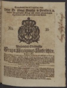 Wochentlich-Stettinische Frag- und Anzeigungs-Nachrichten. 1747 No. 35