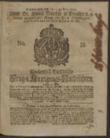 Wochentlich-Stettinische Frag- und Anzeigungs-Nachrichten. 1750 No. 35