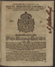 Wochentlich-Stettinische Frag- und Anzeigungs-Nachrichten. 1750 No. 38