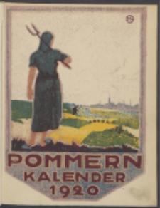 Pommern-Kalender. 1920