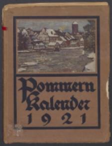 Pommern-Kalender. 1921