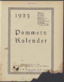 Pommern-Kalender. 1923