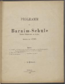 Programm der Barnim-Schule Knaben-Mittelschule zu Stettin. 1896