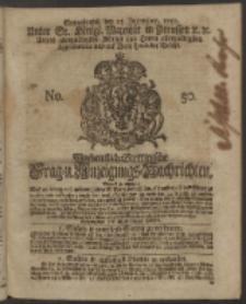Wochentlich-Stettinische Frag- und Anzeigungs-Nachrichten. 1750 No. 50