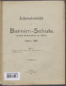 Jahresbericht der Barnim-Schule Knaben-Mittelschule zu Stettin.
