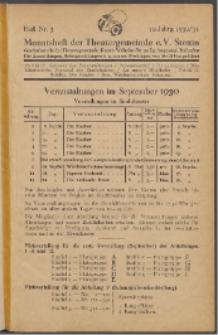 Monatsheft der Theatergemeinde e.V. Stettin. Jg. 10, 1930/1931 H. Nr. 3