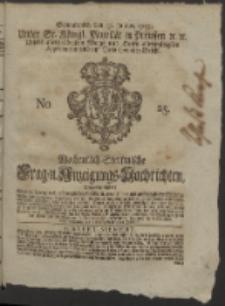 Wochentlich-Stettinische Frag- und Anzeigungs-Nachrichten. 1752 No. 25 + Anhang