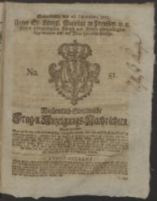 Wochentlich-Stettinische Frag- und Anzeigungs-Nachrichten. 1752 No. 51 + Anhang
