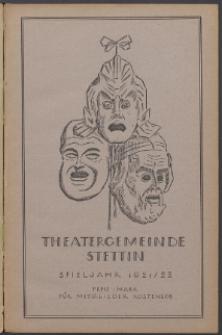 Monatsheft der Theatergemeinde e.V. Stettin. Jg. 1, 1921/22 H. 5