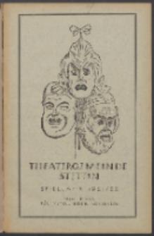 Monatsheft der Theatergemeinde e.V. Stettin. Jg. 1, 1921/22 H. 9