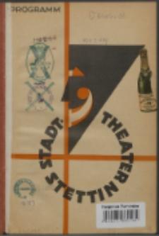Blätter des Stadttheaters Stettin. 1928/1929
