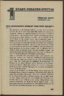Stadt-Theater Stettin. 1930 H. 5