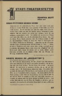 Stadt-Theater Stettin. 1931 H. 10
