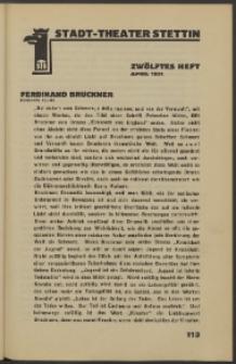Stadt-Theater Stettin. 1931 H. 12