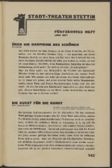 Stadt-Theater Stettin. 1931 H. 15