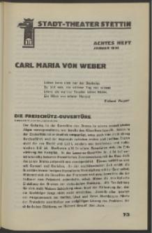 Stadt-Theater Stettin. 1932 H. 8