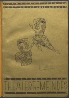 Monatsheft der Theatergemeinde e.V. Stettin. Jg. 5, 1925 H. Nr. 1/2