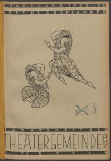 Monatsheft der Theatergemeinde e.V. Stettin. Jg. 5, 1925 H. Nr. 3