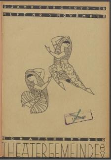 Monatsheft der Theatergemeinde e.V. Stettin. Jg. 5, 1925 H. Nr. 5